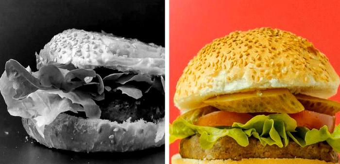 Бургеры в рекламе всегда выглядят идеальными, но для еды не подходят. /Фото: klevo.net