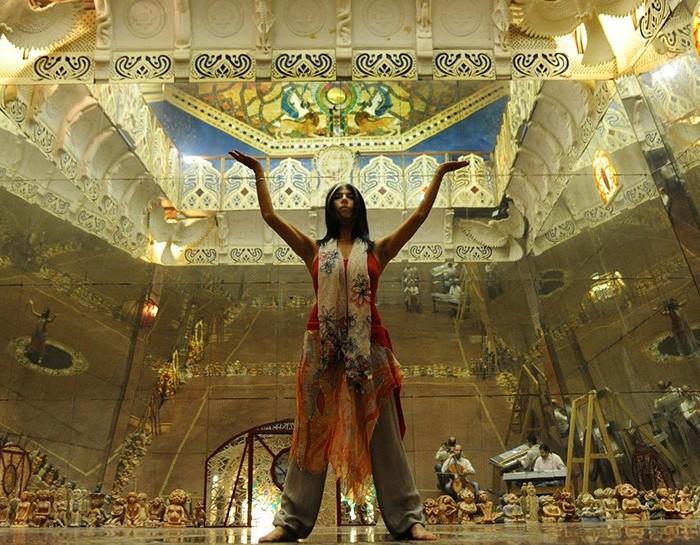 Потрясающей красоты современный храм. /Фото: livejournal.com
