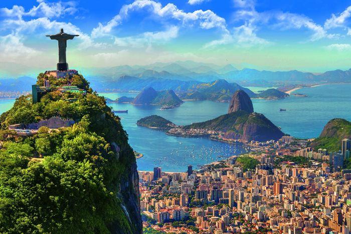 Красоты столицы бразильского карнавала весьма популярны среди туристов. /Фото: yana.kiev.ua