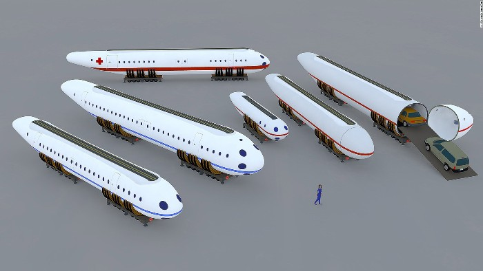 Гондолы могут  выполнять различные функции. /Фото: cnn.com