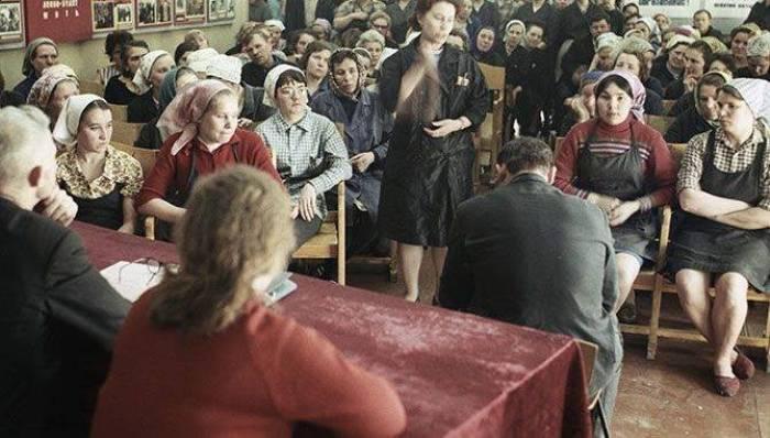 Товарищеский суд в 1973 году. /Фото: topwar.ru
