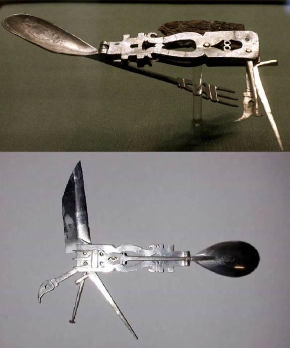 Древние складные ножи. /Фото: topwar.ru