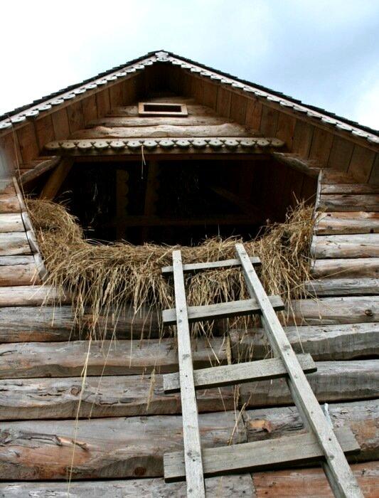 Сеновал на крыше располагался с четкой целью. /Фото: liveangarsk.ru