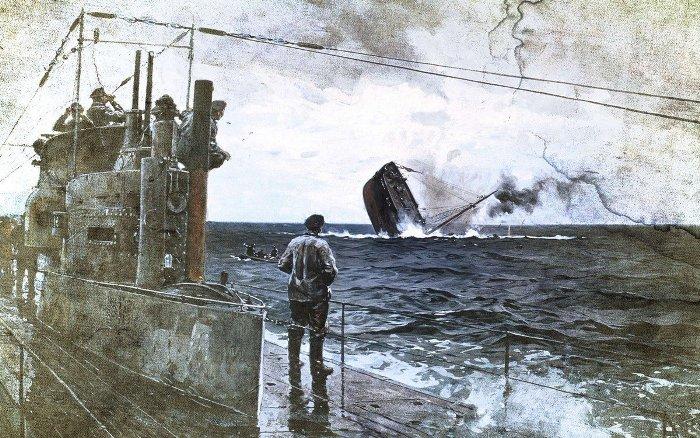 Битва за Атлантику была очень тяжелой для Англии /Фото: shkolazhizni.ru