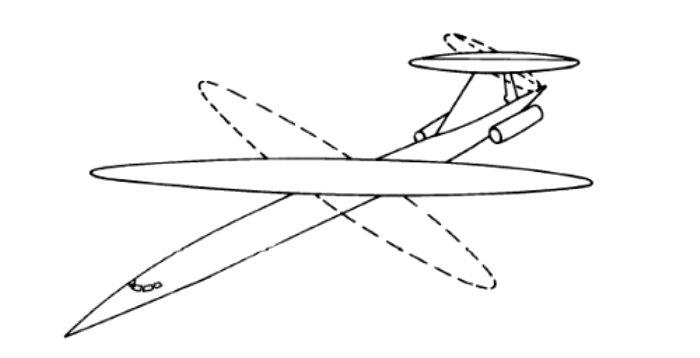Оказалось, что поворачивать одно крыло даже проще. /Фото: secretprojects.co.uk