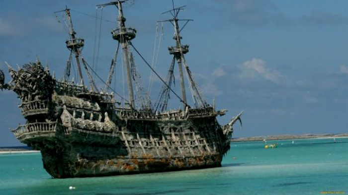 Пиратский флагман с недолгой и трагической судьбой. /Фото: pinterest.com