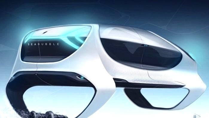 Так, по мнению авторов проекта, выглядит такси будущего. /Фото: sopitas.com