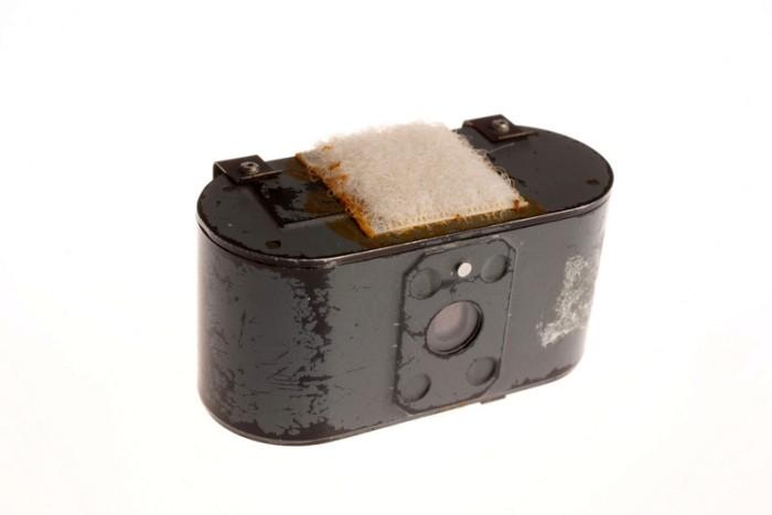 Голубь - птица мира, но маленькая камера сделала их участниками войны. /Фото: boredomfiles.com