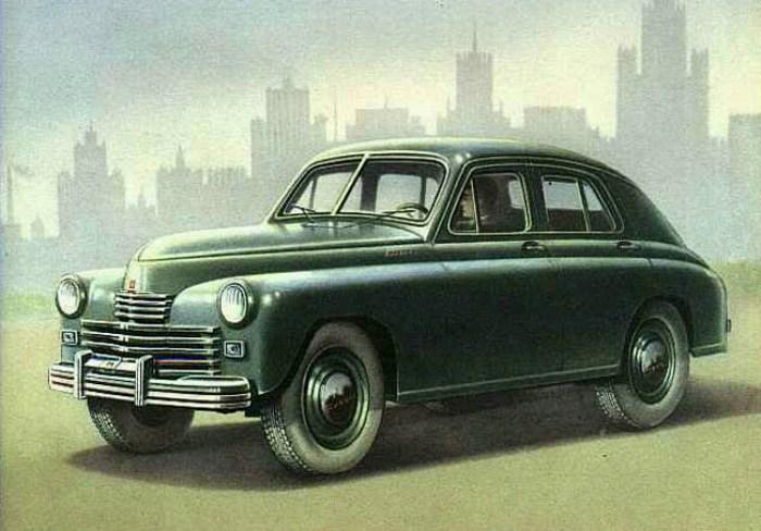 Модификация легендарного автомобиля для спецслужб. /Фото: autoussr.com