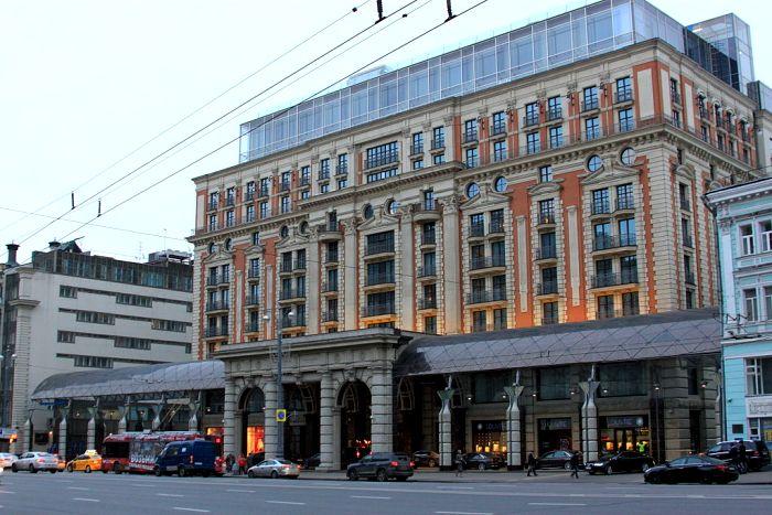 Отель Ritz-Carlton на месте советского «Интуриста», 2014 год. /Фото: wikipedia.org