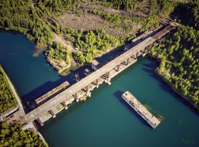 Возможно, совсем скоро в Сибири появится новая действующая ГЭС. /Фото: livejournal.com