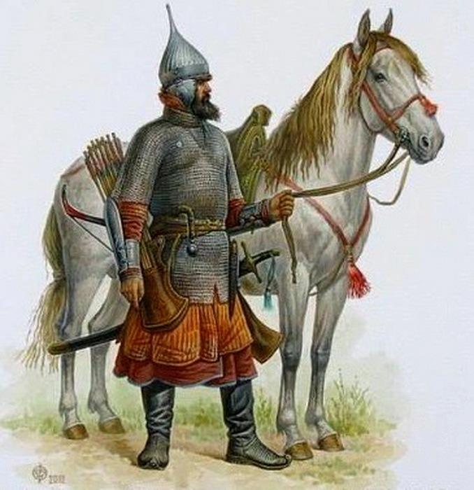 Оказывается, кольчуга была не единственным типов обмундирования у русских воинов. /Фото: livejournal.com