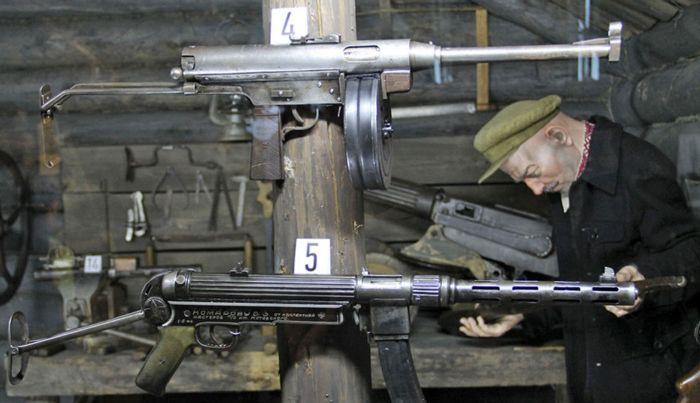 ТМ-44 в экспозиции Белорусского государственного музея истории Великой Отечественной войны. /Фото: guns.allzip.org