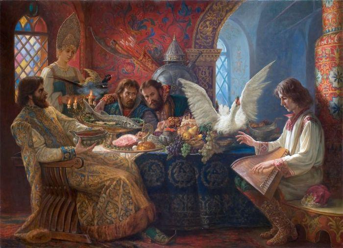 В Х веке стол был не самый разнообразный, однако все равно любопытный. /Фото: culture.ru