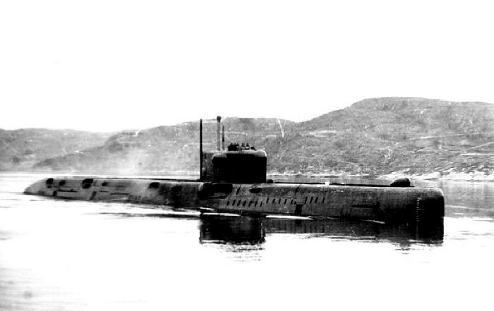 Субмарина, которая все-таки не затонула. /Фото: inokhbeh.org