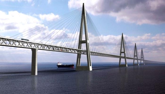 Один из вариантов внешнего вида моста через р.Лену. /Фото: trans.info