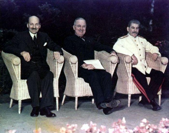 Трумену не удалось впечатлить Сталина. /Фото: waralbum.ru