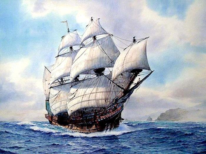 Корабль Черного Барта - грозы Карибского моря. /Фото: sail-friend.ru