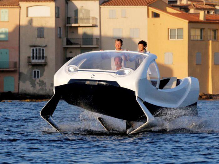 Рассекать по воде на крылатых такси - возможно. /Фото: hightech.fm