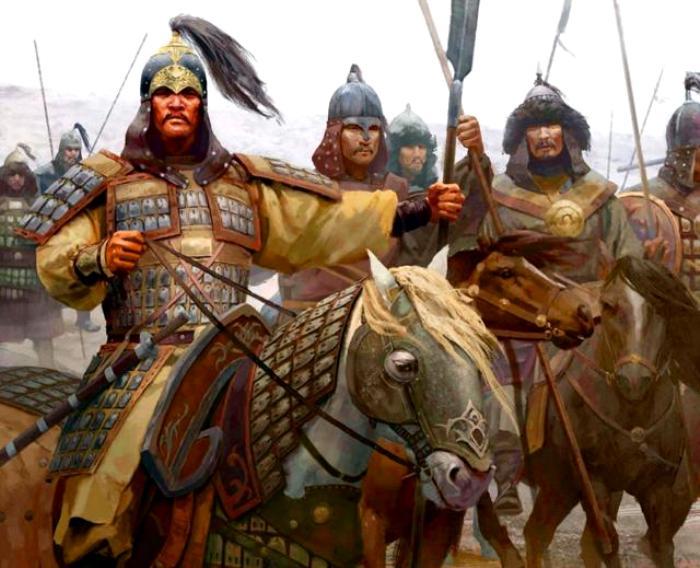 У тех же монгольских воинов защита была куда легче, чем на Западе. /Фото: eparhia-birsk.ru