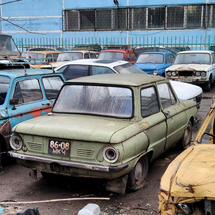 Даже старейшие Запорожцы ржавеют долго. /Фото: pinterest.com