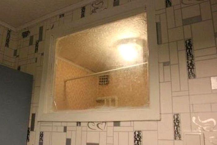 Толком неясно, зачем было нужно это окно. /Фото: ukr.media