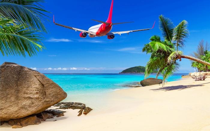 Карибский климат, отлично подходит для отдыха людей, но не самолетов. /Фото: 1zoom.me