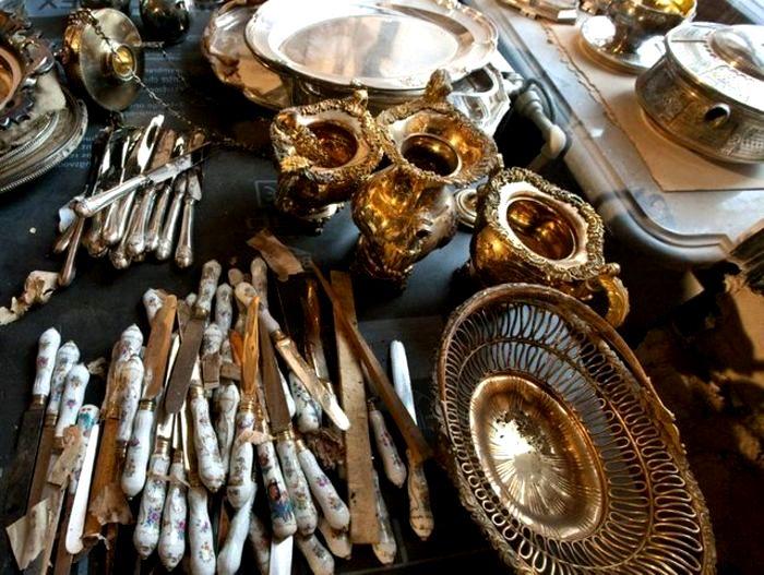 Нарышкины спрятали серебра на несколько миллионов евро. /Фото: zondnews.ru