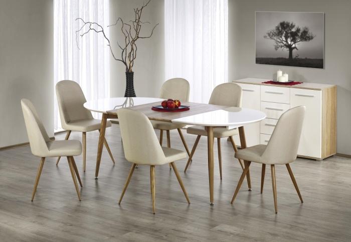 Сейчас стульям присущ минимализм и легкость. /Фото: mebel-statica.ru
