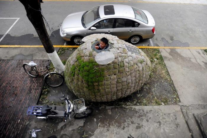 Антикризисный домик прямо под офисом. /Фото: turism.boltai.com