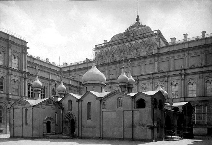 Безвозвратно утерянная старейшая московская церковь. /Фото: retromap.ru
