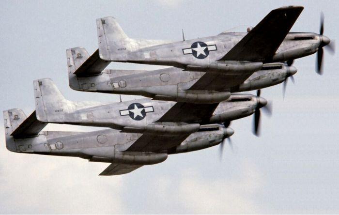 Один из самых необычных американских самолетов послевоенного времени. /Фото: pinterest.com