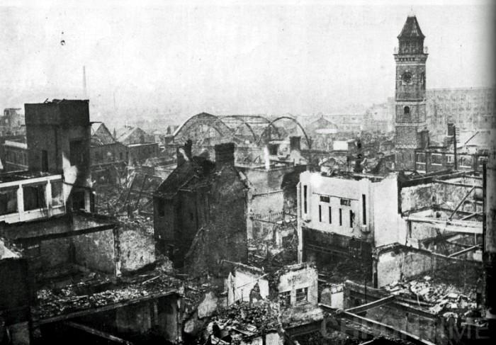 Ковентри пострадал больше остальных английских городов. /Фото: fishki.net