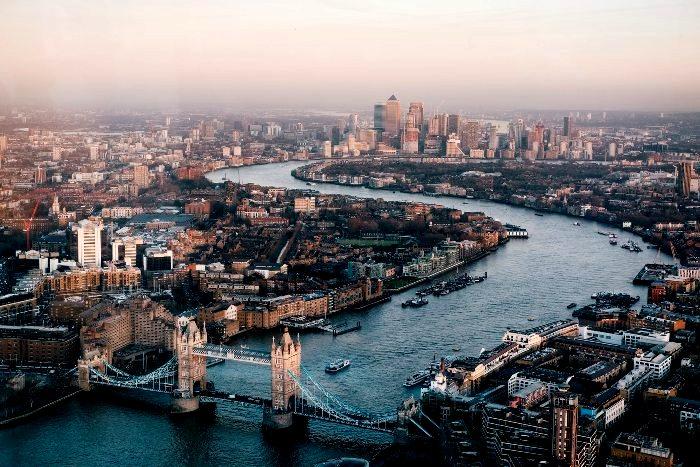 Панорама Лондона, вторая половина 20 века. /Фото: under35.me