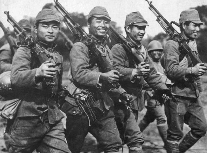 Содаты японской армии. /Фото: russian7.ru