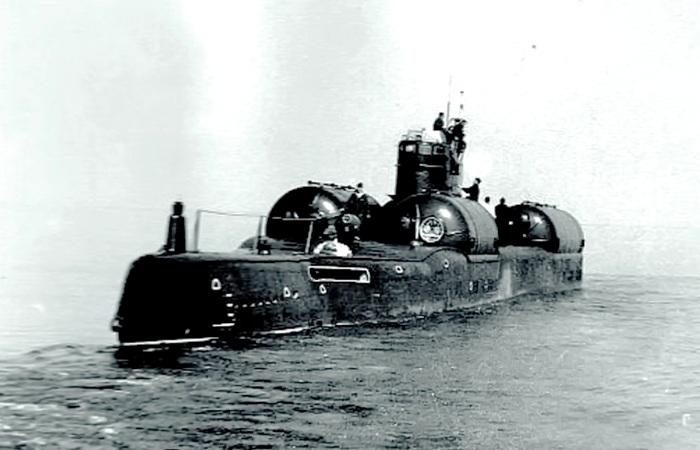 ДЭПЛ проекта 613Э Катран в море. /Фото: udachnyj-enot.com.ua