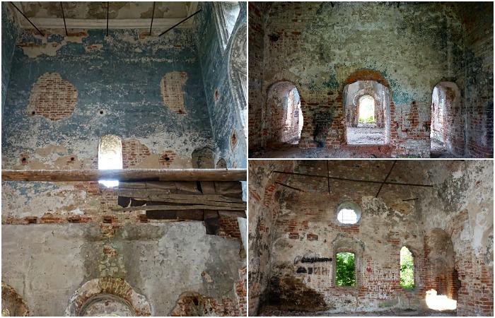 От внутреннего убранства церкви фактически ничего не осталось. /Фото: sobory.ru