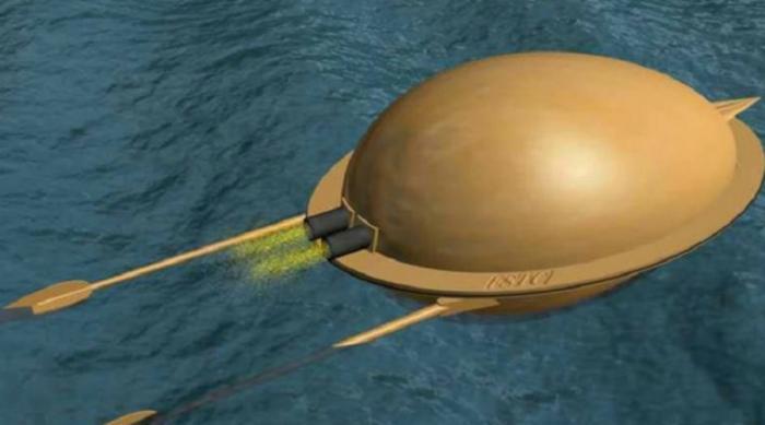 Первая в мире торпеда. /Фото: nlo-mir.ru