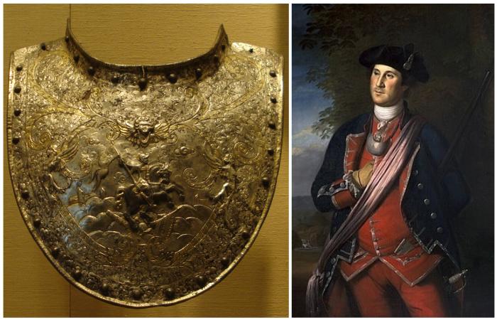 Горжет, или латное ожерелье. /Фото: wikipedia.org