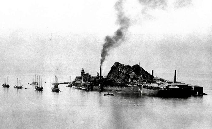 Остров Хасима в 1930-е годы. /Фото: apjjf.org