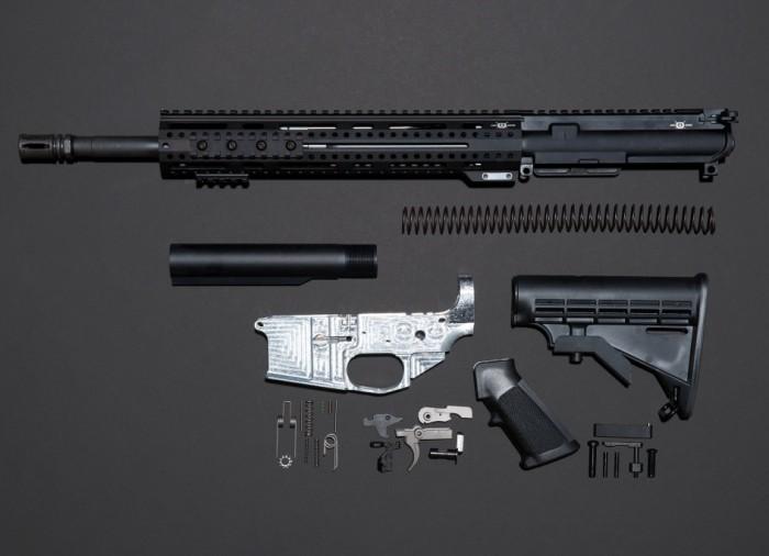 Из всех этих деталей только одна (металлического цвета) не продается в США свободно. /Фото: zbroya.info