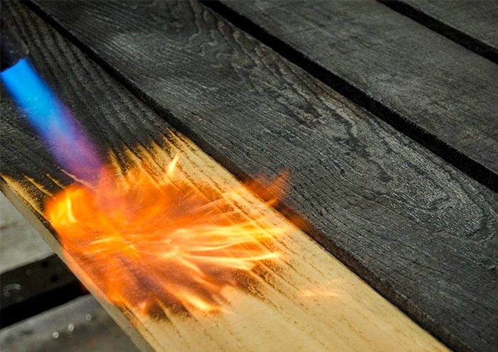 Оказывается, обжиг нужен не только для создания красивого интерьера. /Фото: lesoteka.com
