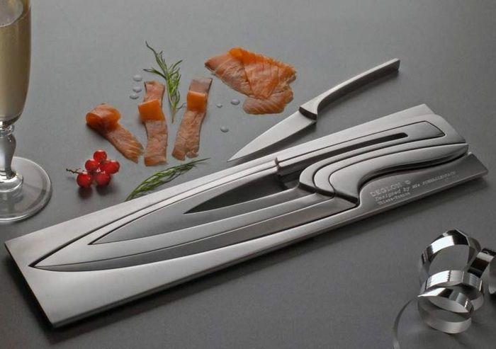 Ножи, которые не занимают много места. /Фото: morefactov.ru