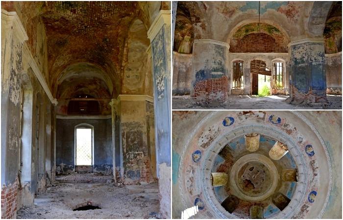 Интерьеры заброшенной церкви. /Фото: urban3p.ru