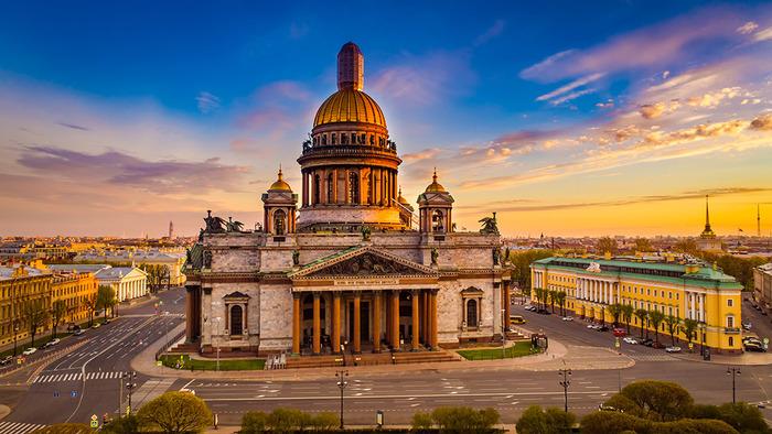 Дань классицизму и Петру Великому.  /Фото: etnomir.ru