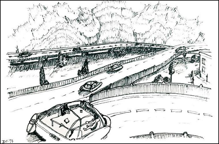 Машины, которые не нуждаются в управлении, предсказали еще очень давно. /Фото: blogspot.com