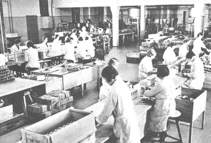 Фабрика Теммлер, где изготовлялся первитин. /Фото: lenta.ru
