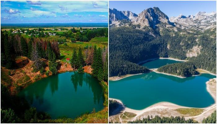По форме озера, может, и не похожи, но пейзажи совпадают. /Фото: russianasha.ru
