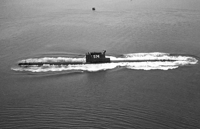 Пожалуй, самая известная затонувшая подлодка СССР. /Фото: rg.ru