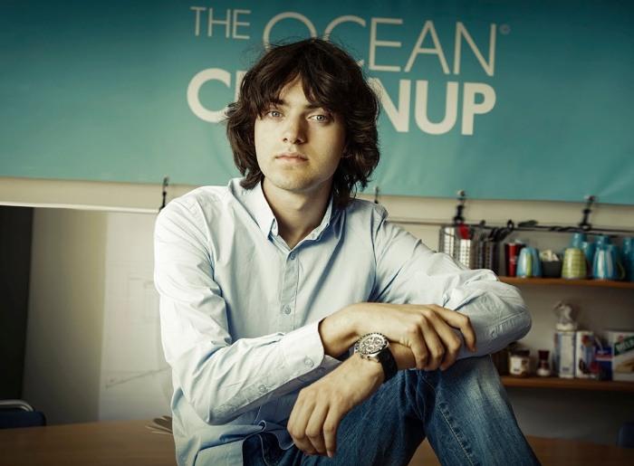 Бояну Слату было всего 18 лет, когда он решил воплотить в жизнь свою мечту. /Фото: goodthingsguy.com
